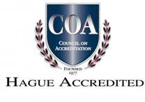COA hague accredidation logo
